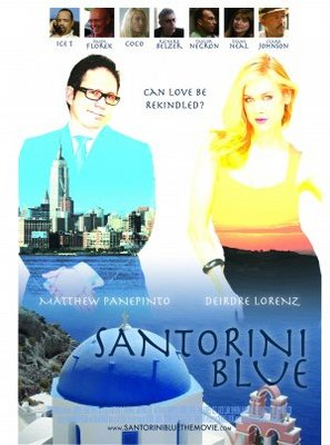 Santorini Blue movie poster (2010) poster MOV_1c7ef5ac