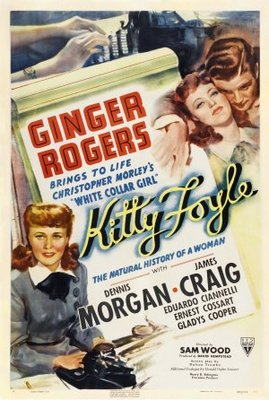 Kitty Foyle: The Natural History of a Woman movie poster (1940) poster MOV_1c9d57f7