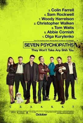 Seven Psychopaths movie poster (2012) poster MOV_1ca254b9