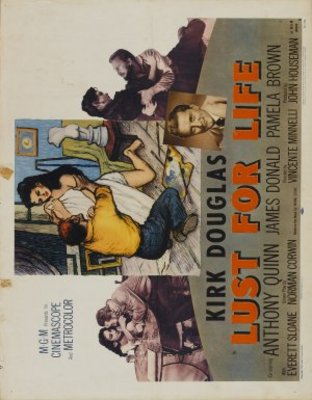 Lust for Life movie poster (1956) poster MOV_1ca32933