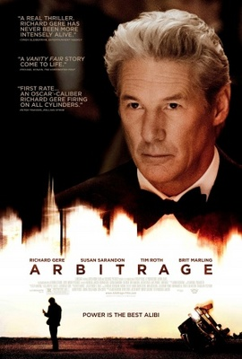 Arbitrage movie poster (2012) poster MOV_1cad0089