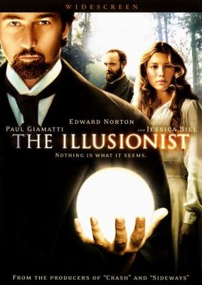 The Illusionist movie poster (2006) poster MOV_1cc0f081