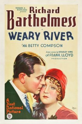 Weary River movie poster (1929) poster MOV_1cc8e49a