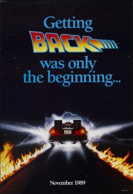 Back to the Future Part II movie poster (1989) poster MOV_1cd0ef05