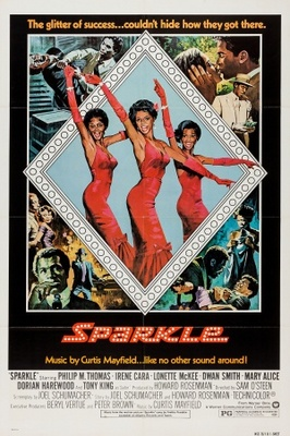 Sparkle movie poster (1976) poster MOV_1ce12745