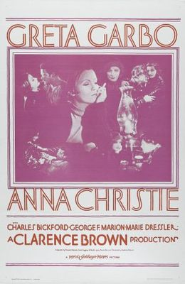Anna Christie movie poster (1930) poster MOV_1ce2b49c