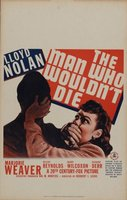 The Man Who Wouldn't Die movie poster (1942) picture MOV_1cf5cd83
