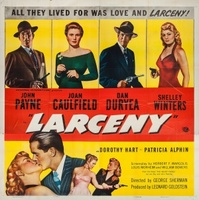 Larceny movie poster (1948) picture MOV_1d053374