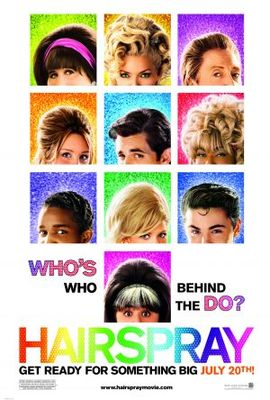 Hairspray movie poster (2007) poster MOV_1d0bafed