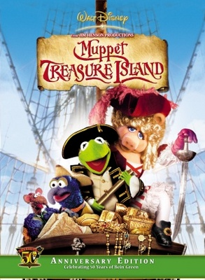 Muppet Treasure Island movie poster (1996) poster MOV_1d263368