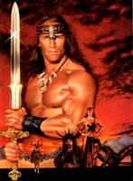 Conan The Destroyer movie poster (1984) picture MOV_1d61ed70