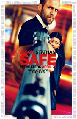 Safe movie poster (2011) poster MOV_1d91786a