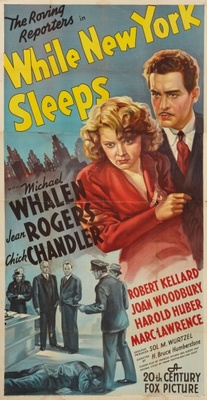 While New York Sleeps movie poster (1938) poster MOV_1d95d09a