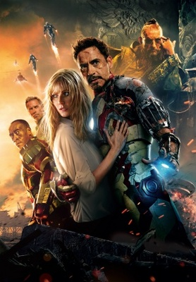 Iron Man 3 movie poster (2013) poster MOV_1d9d1579