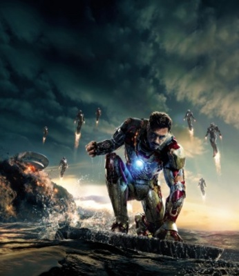 Iron Man 3 movie poster (2013) poster MOV_1da24f4e