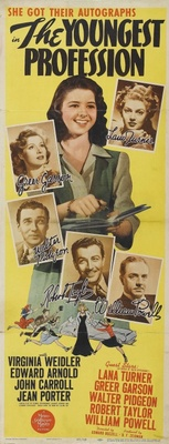The Youngest Profession movie poster (1943) poster MOV_1dbfe1ee