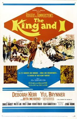The King and I movie poster (1956) poster MOV_1dcf55ab