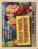 Hold Back Tomorrow movie poster (1955) picture MOV_1de3cde0