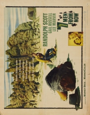 Seven Men from Now movie poster (1956) poster MOV_1def51ea