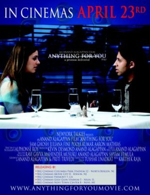 Anything for You movie poster (2008) poster MOV_1df5410a