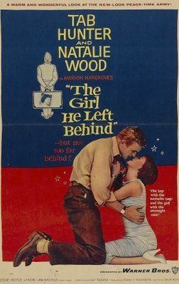 The Girl He Left Behind movie poster (1956) poster MOV_1dfb9814