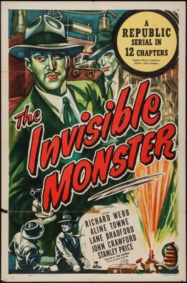 The Invisible Monster movie poster (1950) poster MOV_1e057ed1