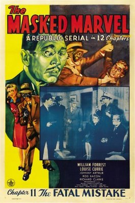 The Masked Marvel movie poster (1943) poster MOV_1e07354a
