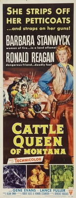 Cattle Queen of Montana movie poster (1954) poster MOV_1e11e006
