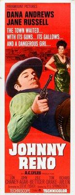 Johnny Reno movie poster (1966) poster MOV_1e134dfe