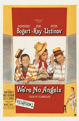 We're No Angels movie poster (1955) poster MOV_1e2f9c56