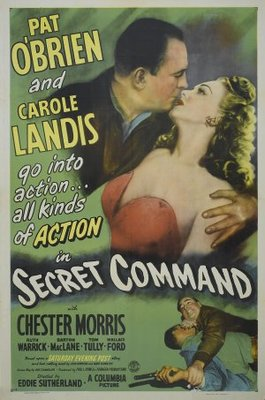 Secret Command movie poster (1944) poster MOV_1e3a779f