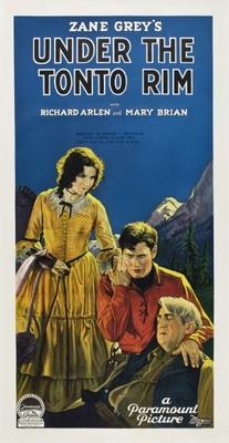 Under the Tonto Rim movie poster (1928) poster MOV_1e3cdc96