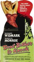 Don't Bother to Knock movie poster (1952) picture MOV_2c729587