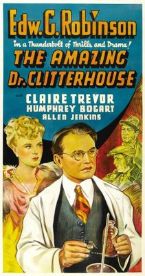 The Amazing Dr. Clitterhouse movie poster (1938) poster MOV_1e621825