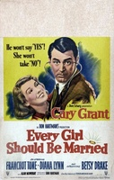 Every Girl Should Be Married movie poster (1948) picture MOV_1e9568db