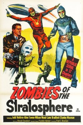 Zombies of the Stratosphere movie poster (1952) poster MOV_1ea93772