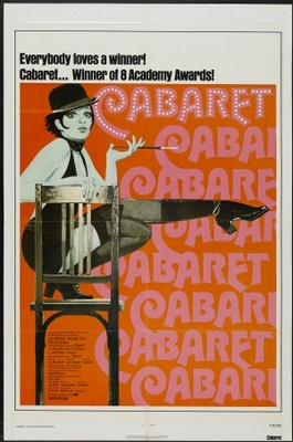 Cabaret movie poster (1972) poster MOV_1ebae73f