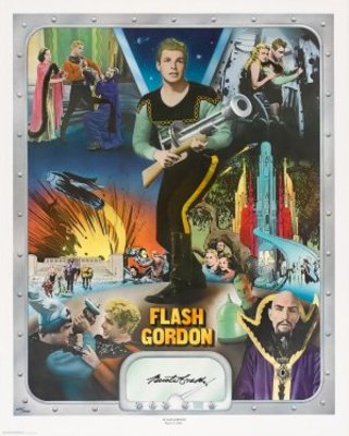 Flash Gordon movie poster (1936) poster MOV_1ecafabd