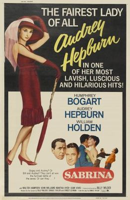 Sabrina movie poster (1954) poster MOV_1ed1c6e5