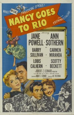 Nancy Goes to Rio movie poster (1950) poster MOV_1ee46a89
