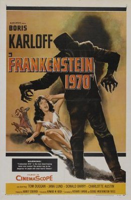 Frankenstein - 1970 movie poster (1958) poster MOV_1eff667d