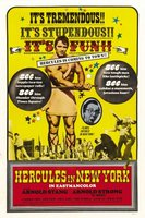 Hercules In New York movie poster (1970) picture MOV_1f20af6c