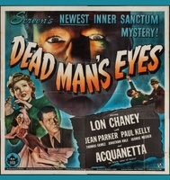 Dead Man's Eyes movie poster (1944) picture MOV_1f5ed9c8