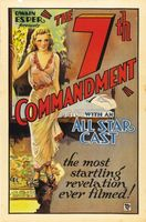 The Seventh Commandment movie poster (1932) picture MOV_1f68f7ac