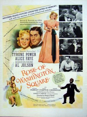 Rose of Washington Square movie poster (1939) poster MOV_1f7b54e5