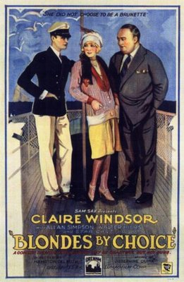 Blondes by Choice movie poster (1927) poster MOV_1f8b94d9