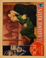 The Defense Rests movie poster (1934) picture MOV_1fccd0af