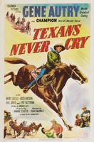 Texans Never Cry movie poster (1951) picture MOV_202fbd49