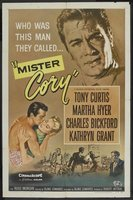 Mister Cory movie poster (1957) picture MOV_2058e6a0