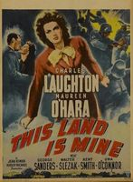 This Land Is Mine movie poster (1943) picture MOV_20640e42